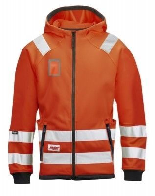8043 Snickers High-Vis Mikro Fleece Jacke, Klasse 3