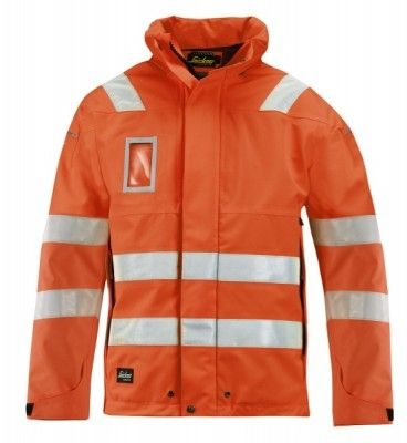 1683 Snickers High-Vis GORE-TEX Shell Jacke, Klasse 3