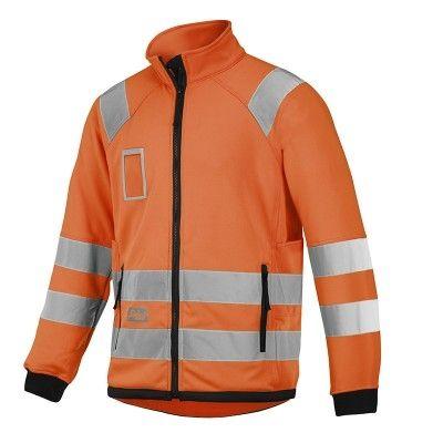 8063 Snickers Warnschutz Micro Fleece Jacke, Klasse 3