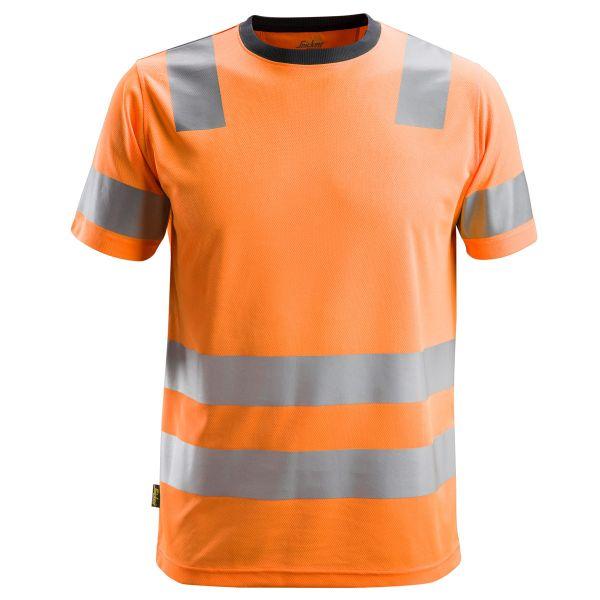 2530 Snickers AllroundWork, High-Vis T-Shirt, Klasse 2