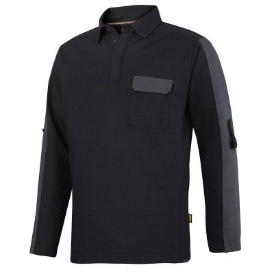 2607 Snickers AllroundWork Rugby Shirt