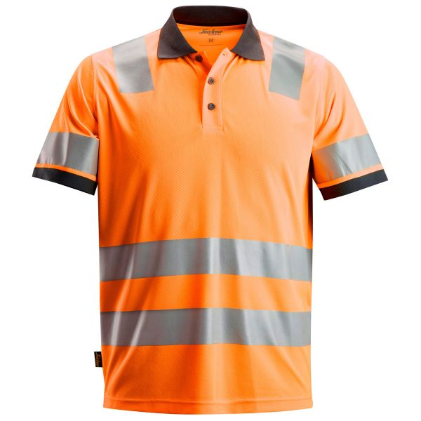 2730 Snickers AllroundWork, High-Vis Polo Shirt Klasse 2
